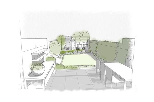Barnes garden concept drawing