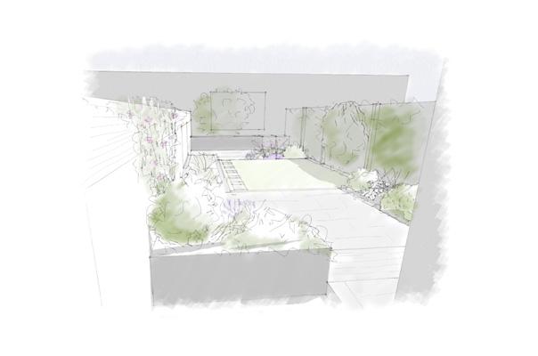 East Dulwich sketch
